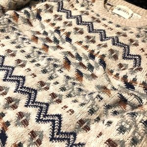 JT Beckett Sweaters - VTG 90's Oversized Abstract Wool Sweater M
